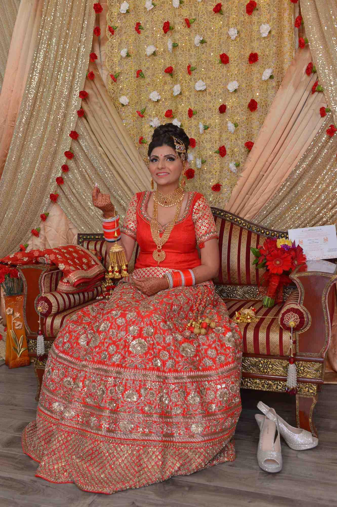 Indian bride w
