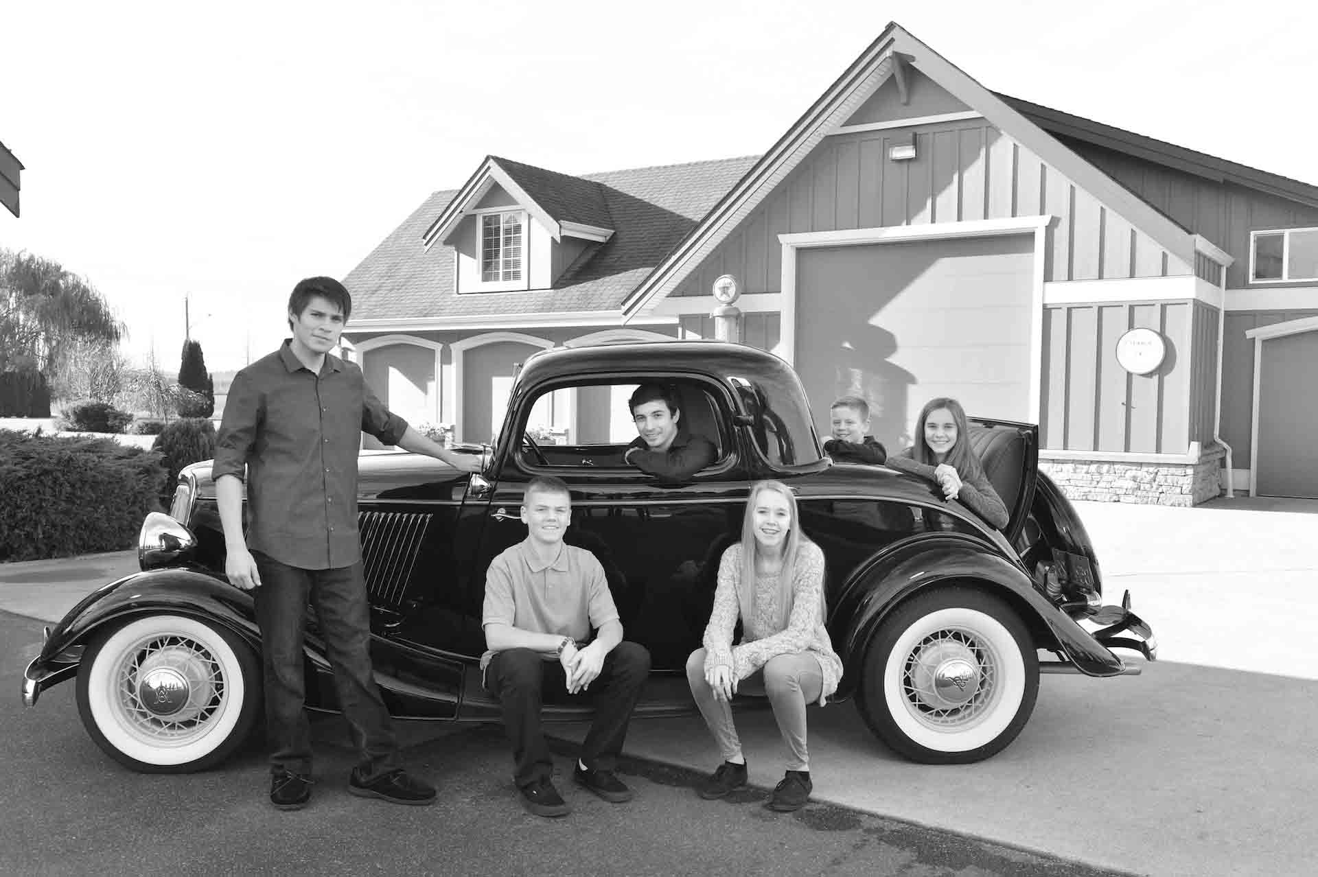 car family photos