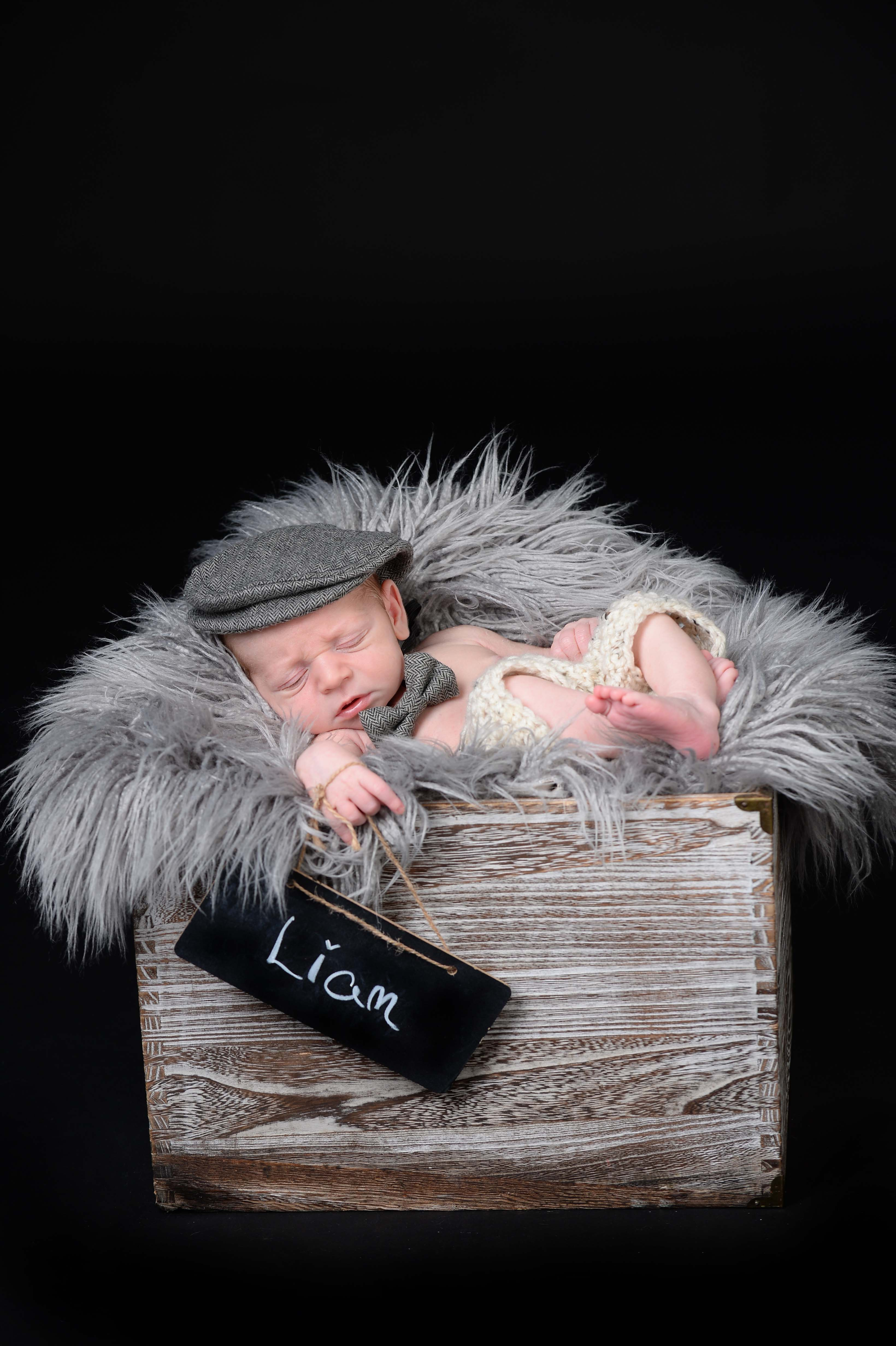 newborn photo shoot