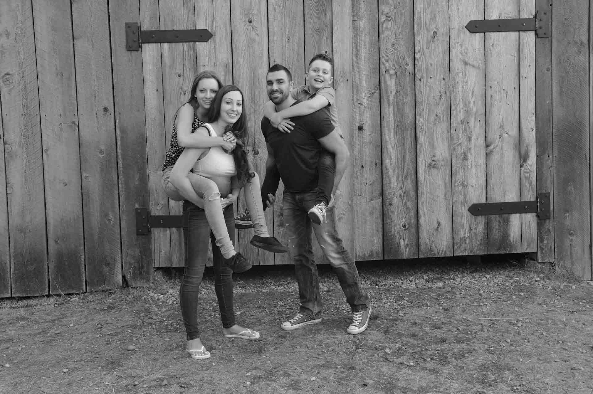 stewart farm house family photos