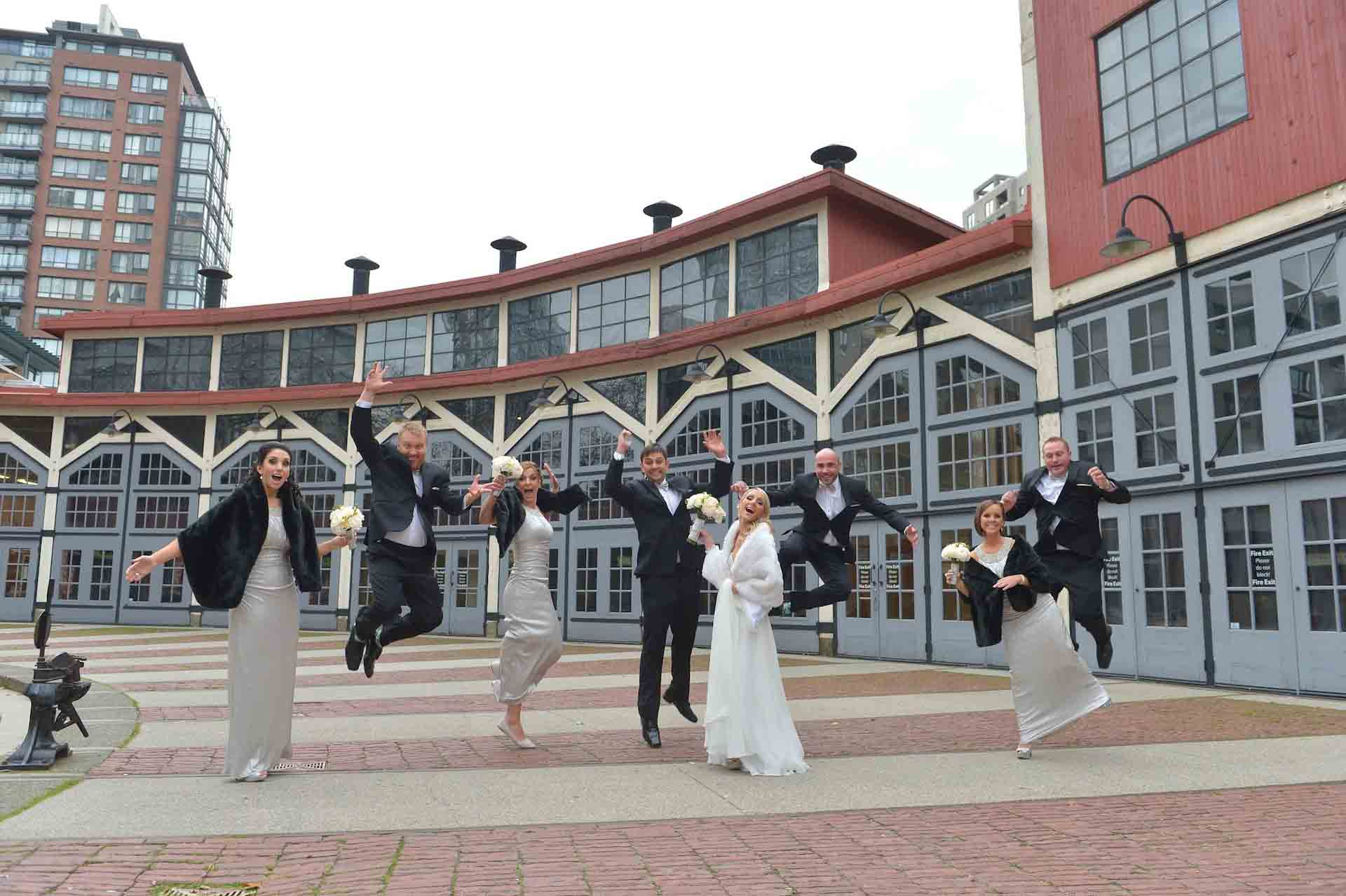 the roundhouse wedding photo vancouver