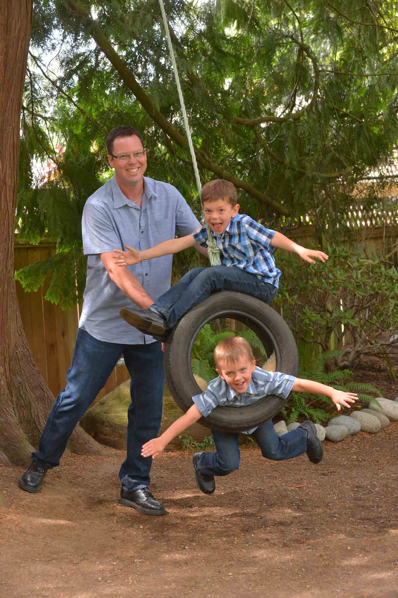 tire swing photos