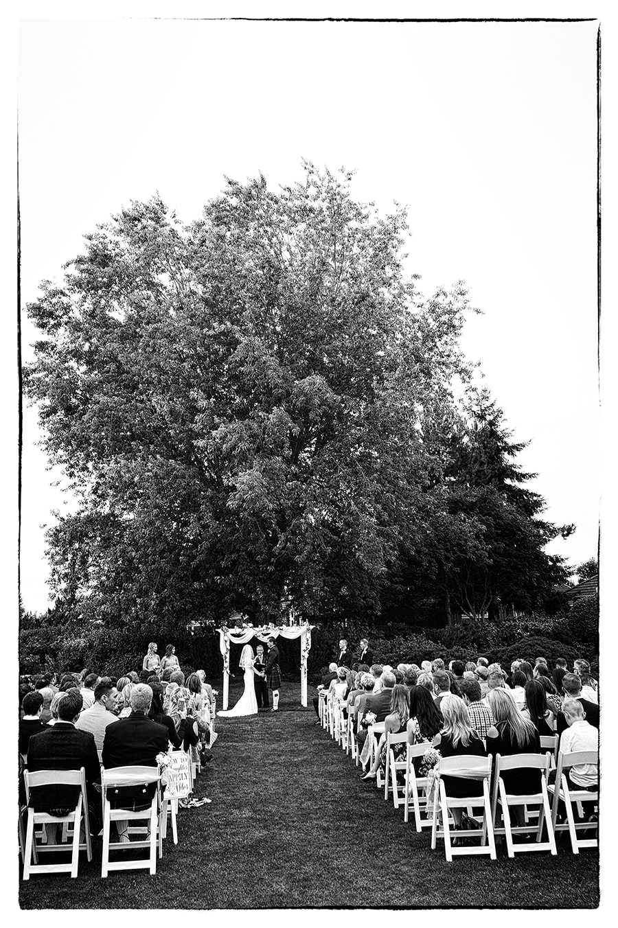hazelmere wedding ceremony photo