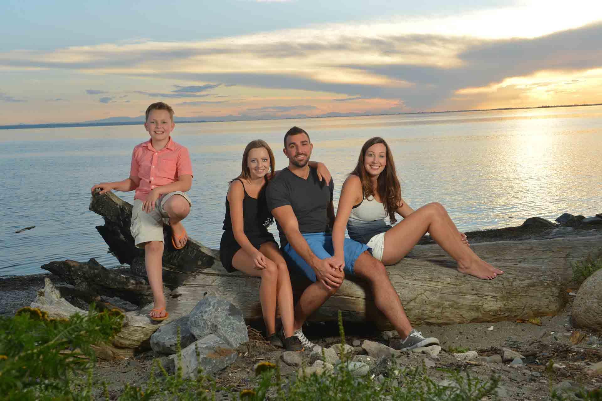 family photos crescent beach